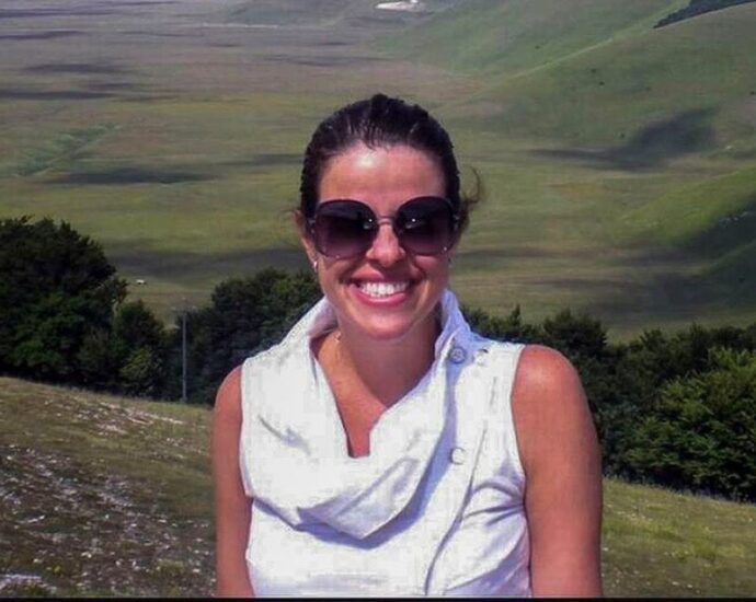 Juíza Viviane Amaral, assassinada na frente das filhas pelo ex-companheiro, Paulo Arronenzi